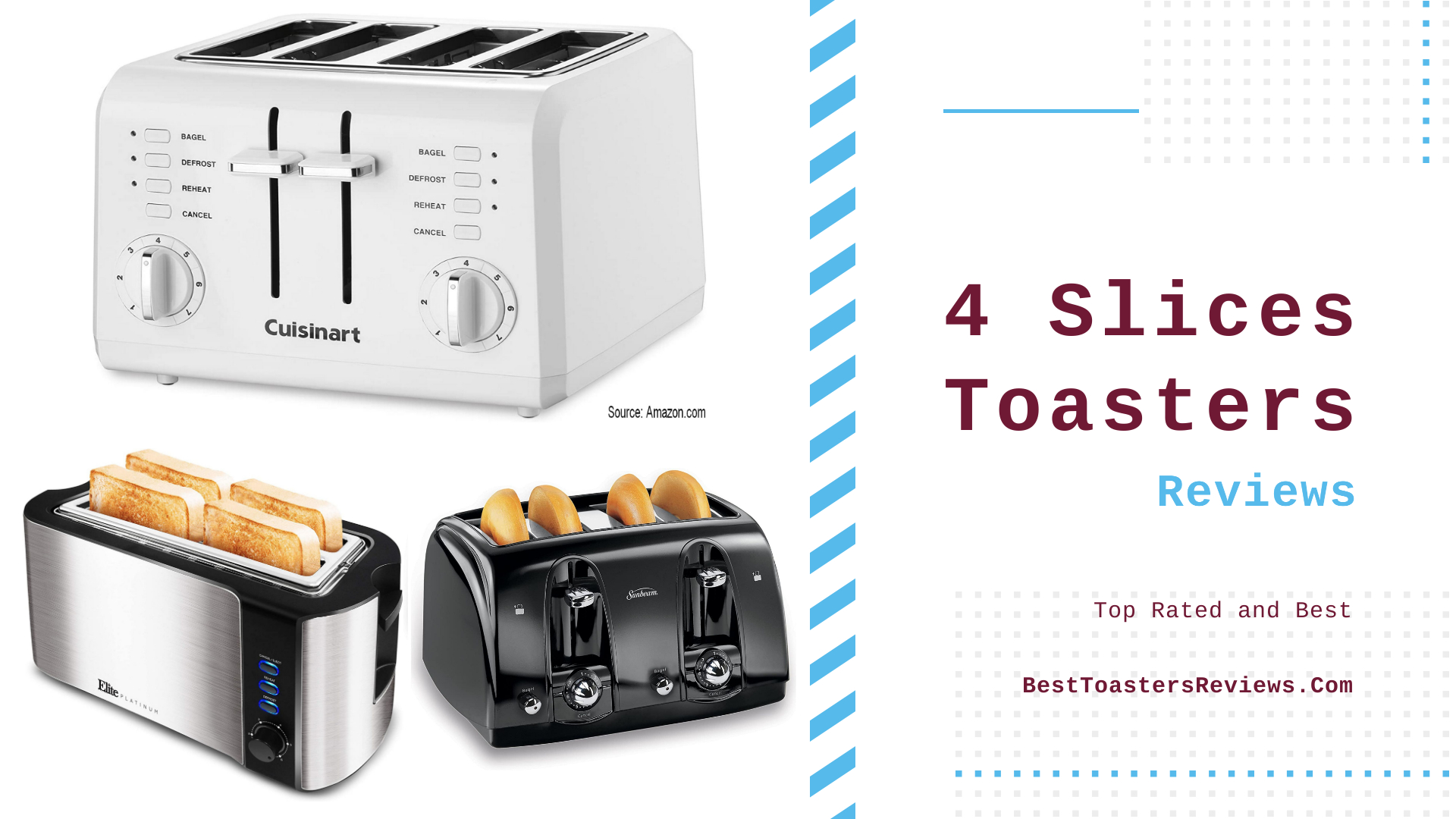 4 Slices Toasters Reviews