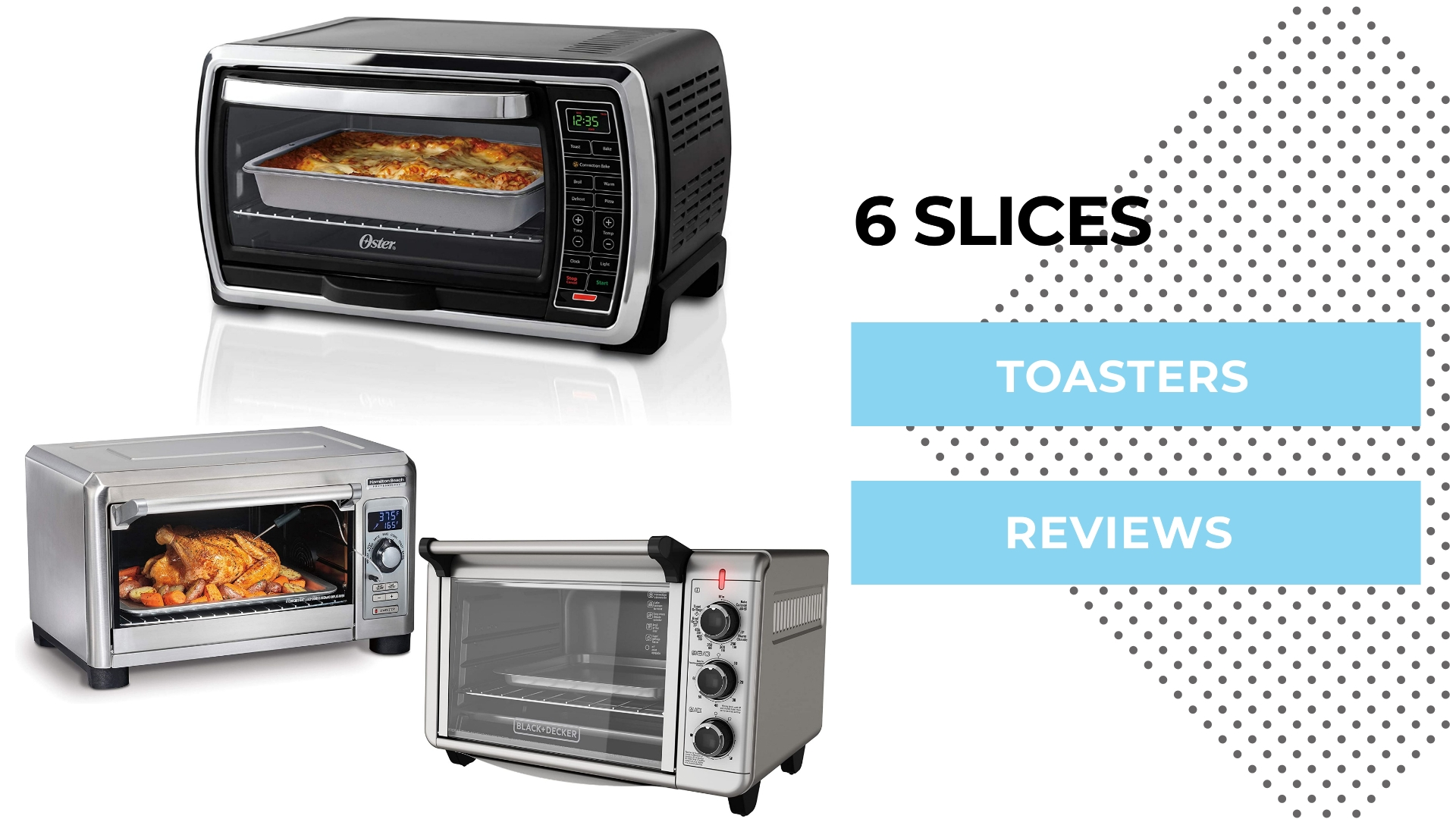 6 Slices Toasters Reviews