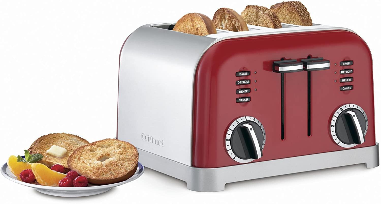 Cuisinart CPT-180MRP1 CPT-180MR Classic 4-Slice Toaster
