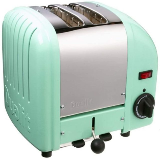 Dualit 2-Slice Toaster, Mint Green