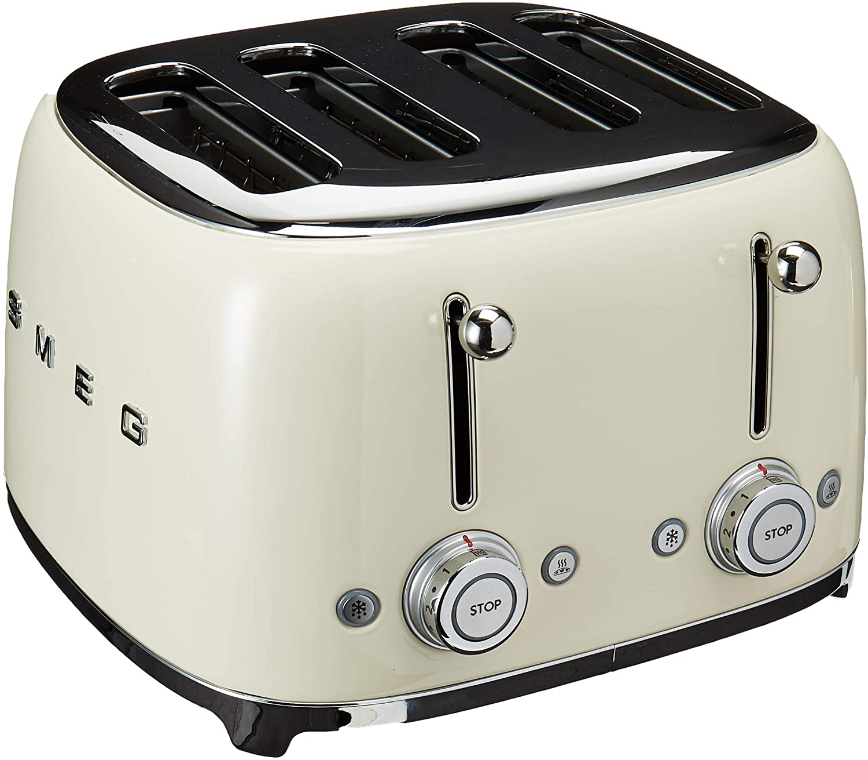 Smeg 4 Slot TSF03 Toaster