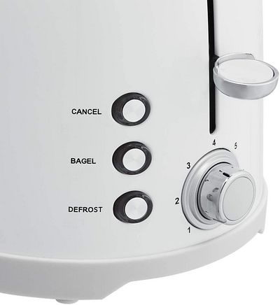 AmazonBasics 2 Slot Toaster Settings